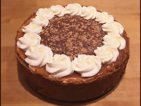 Caramel Toffee Cheesecake