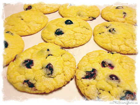 Blueberry Corn Muffin Cookies