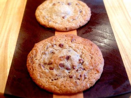 Nutella-Stuffed Banana Chocolate Chip Cookies