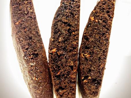 Chocolate Orange Cinnamon Biscotti