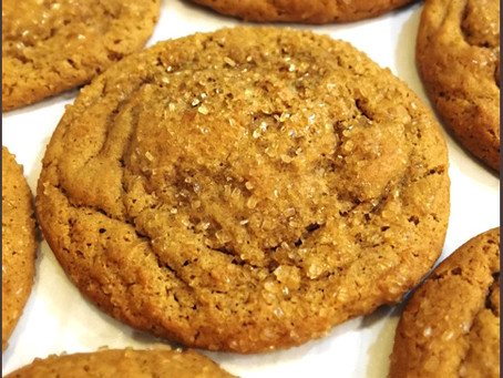Mom's Chewy Ginger Molasses Cookies