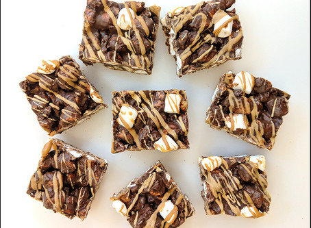 Cookie Butter S'Mores Bars