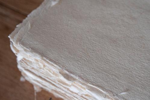 Papel de fibra de fique natural