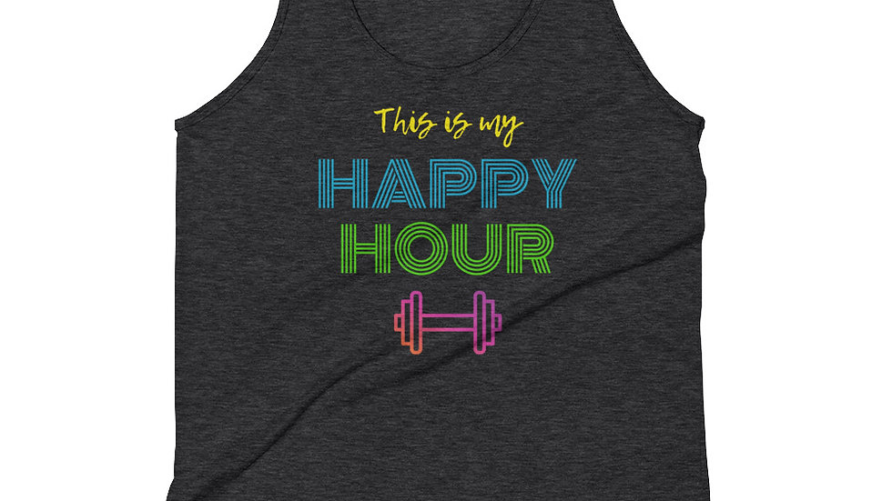 THIS IS MY HAPPY HOUR - Tank Top (unisex)
