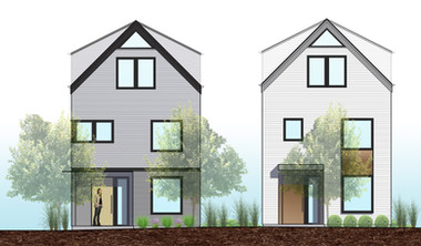Two Design-Minded Homes + DADUs            in Maple Leaf