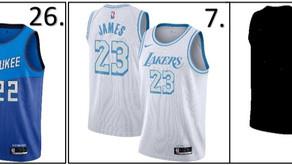 2021 NBA City Jerseys Ranked!