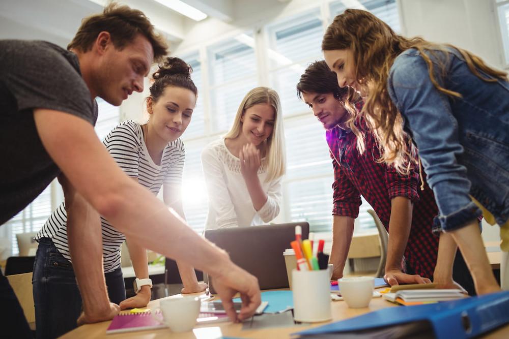 An Agile team planning a Scaled Agile implementation
