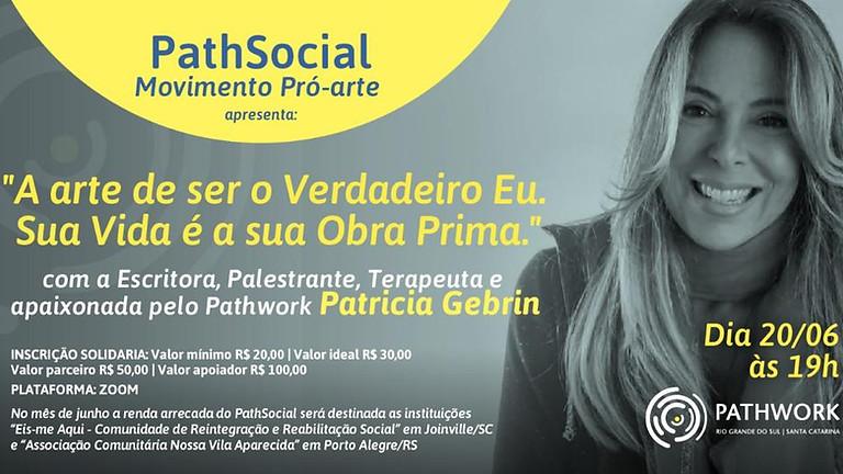 """Gravação do evento """"A Arte de Ser o Verdadeiro Eu. Sua Vida é a sua Obra Prima"""" com a escritora Patricia Gebrim"""