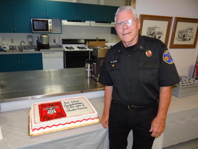 Bob at his 50th anniversary celebration
