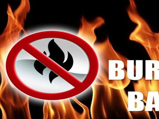Marion County Fire Defense Board Issues Burn Ban During Red Flag Conditions
