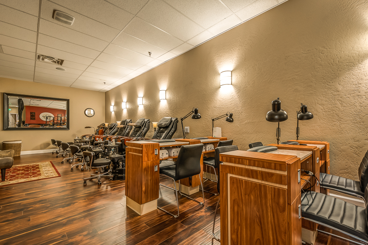 Avalon Salon Manicure Tables