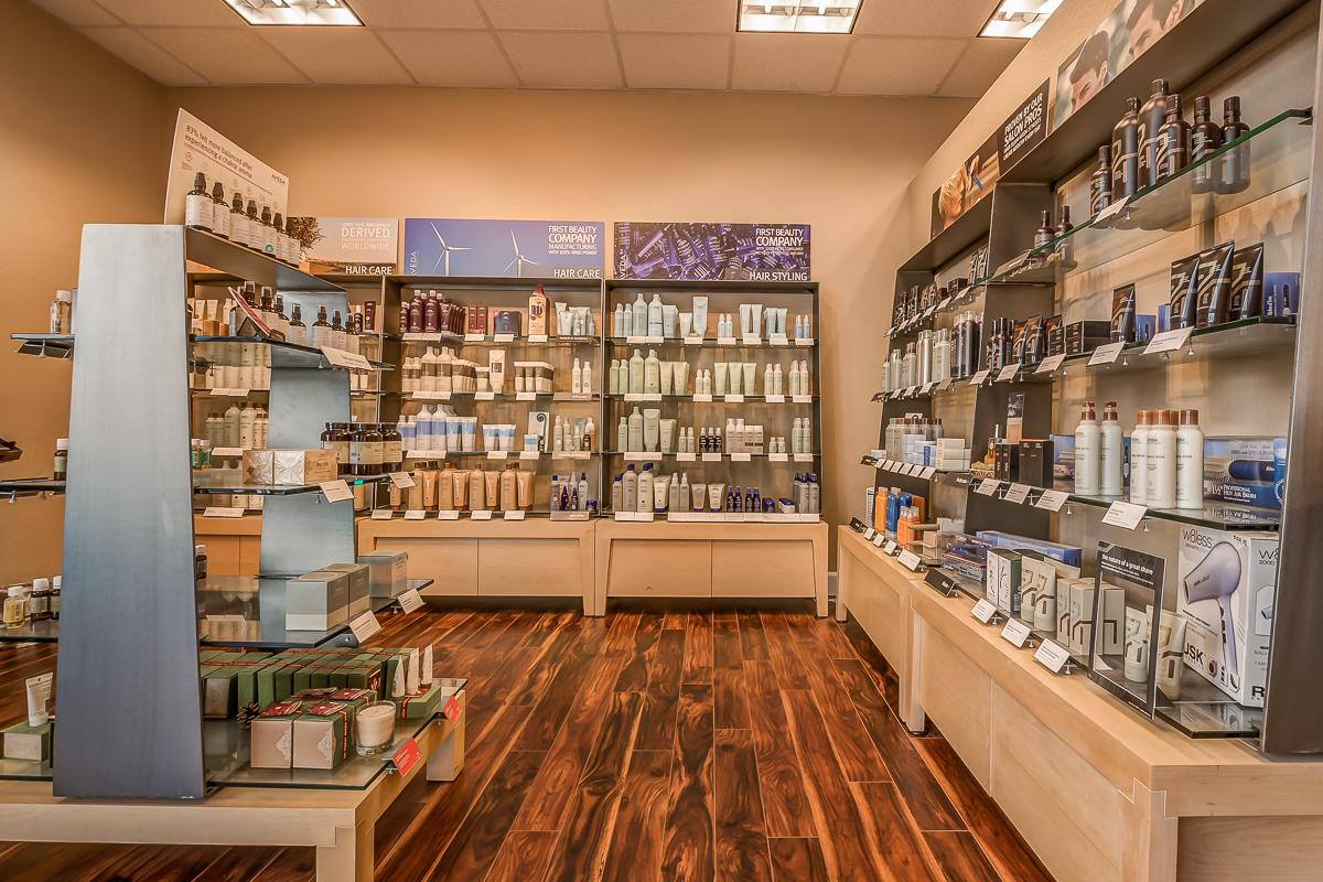 Avalon Salon Aveda Retail Store