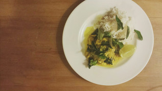 Tumeric and Tamarind Fish Curry