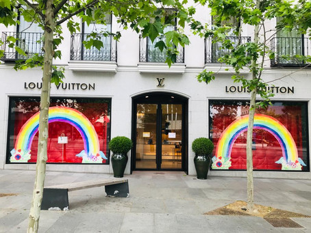 The Rainbow Project por Louis Vuitton