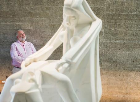 El gran escultor Pablo atchugarry, y su nueva creación del Museo Latinoamericano en Uruguay