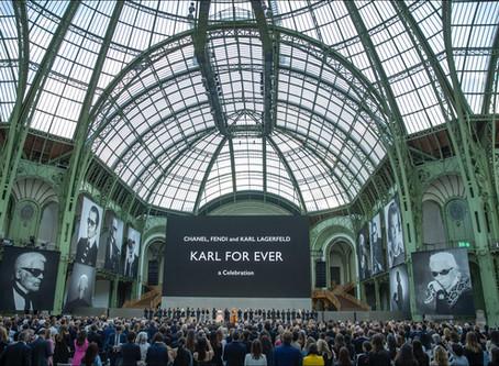 El homenaje de despedida Karl for Ever