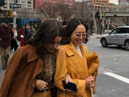 NY Street Style: Shades of Brown