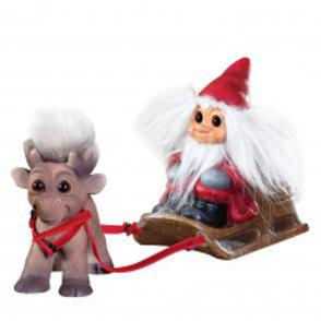 Santa , sleigh and Reindeer Brave
