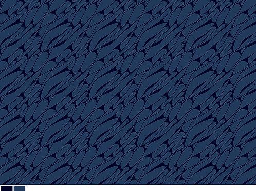 Marbel Line Blender Cotton- Navy