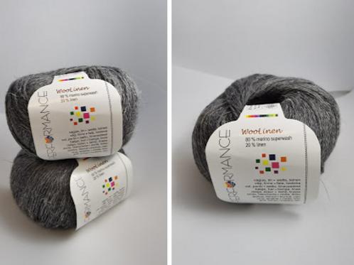 Woolinen  Merino superwash   80% wool , 20% linen         nr235