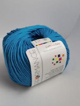 Cotton Bay  100% combed cotton - Blue  nr 128