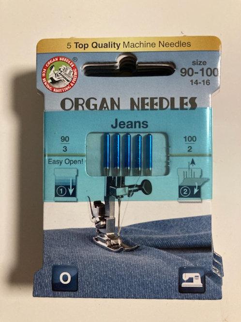 Organ Needles - Jeans