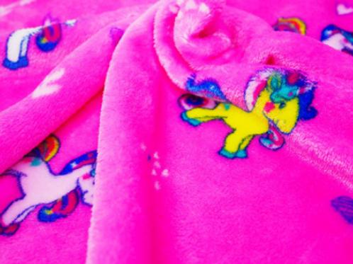 Unicorn Rainbow Cuddle Fleece