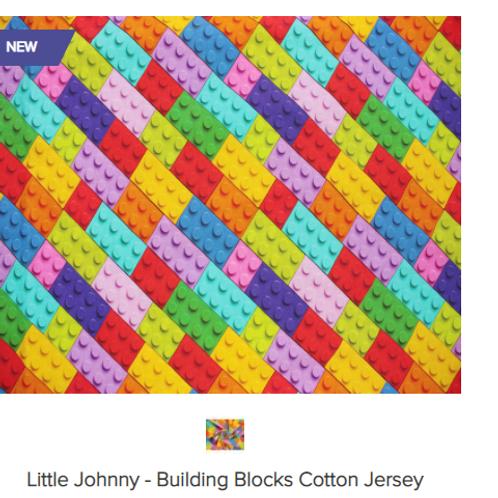 Little Johnny- Building Blocks ( Lego)