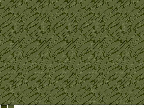 Marbel Lines Cotton  Olive