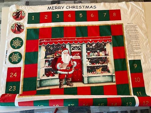 Julekalender - Bomull . lag kalenderen selv  med veiledning