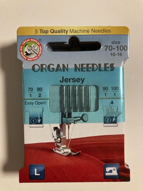 Organ Needles  Jersey