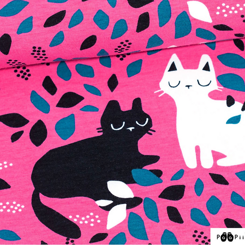 Katte gjemsel  - Hide and seek  - Rosa