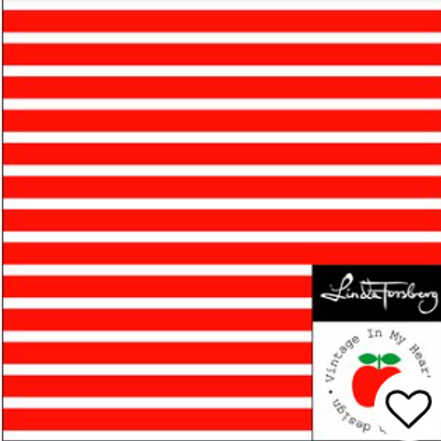 Striper Rød