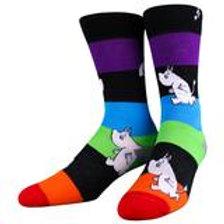 Moomin rainbow stripes