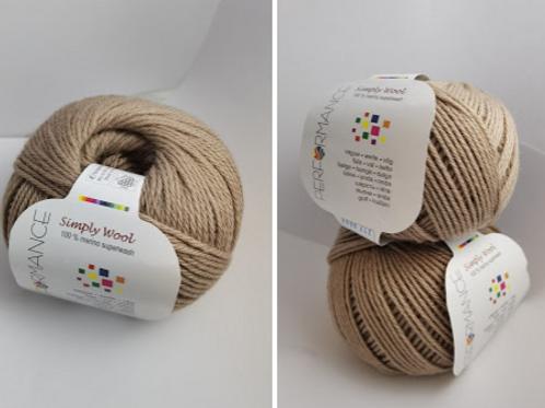 Simply wool -  superwash  -pal browne