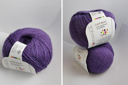 Cool Wool  Light wool   -purple