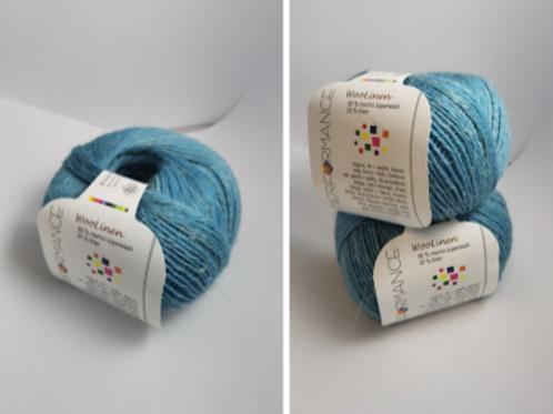 Woolinen Merino superwash 80%wool 20% linen Nr 94