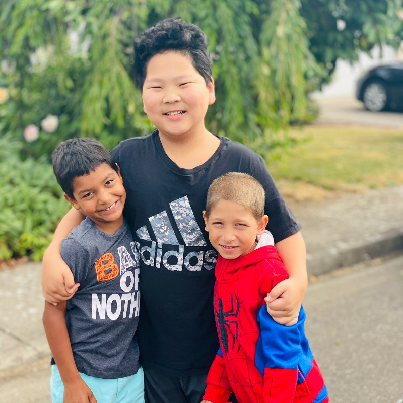 family adoption raising boys