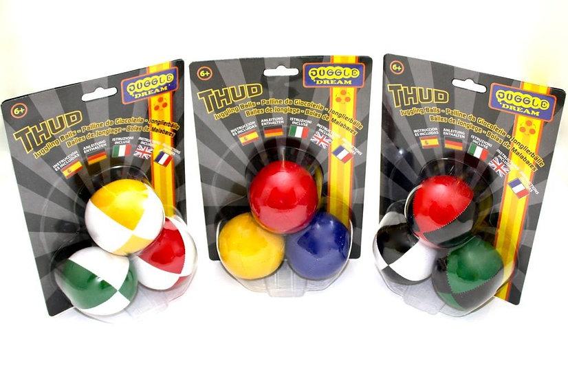3 x Juggling Ball Pack - Juggle Dream Thuds