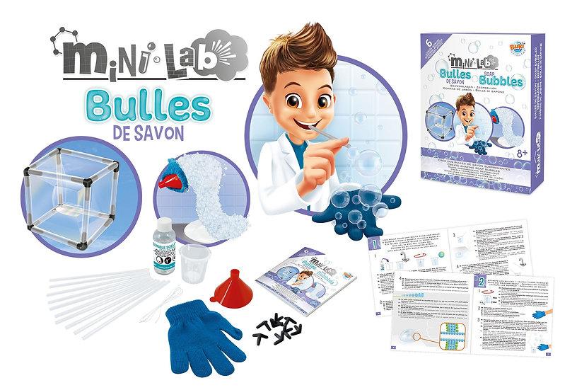 BUKI Mini-Lab Soap Bubbles Science Kit