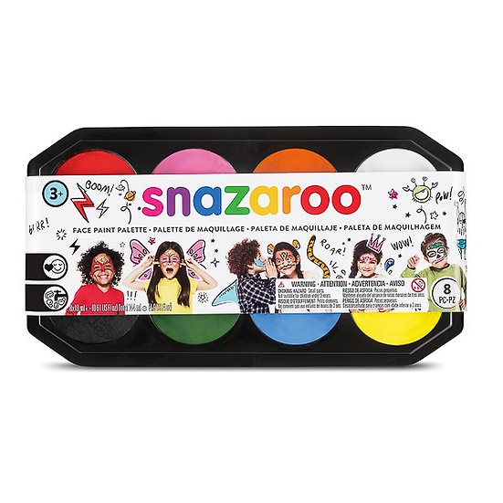 Snazaroo Face Paint Set - 8 colours