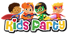 kidsparty long logo