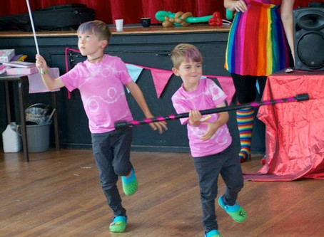 Circus school workshops