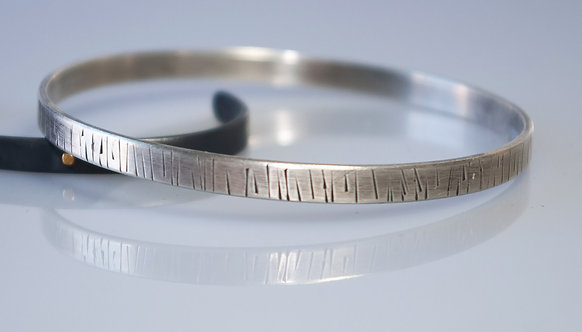 Simple Textured Bangle