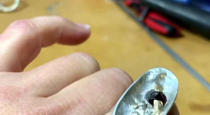 Celestial Ring with Garnet