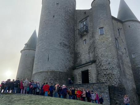 Visite du château de Vêves P3-P4