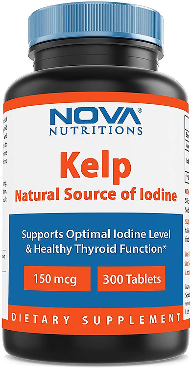 Nova Nutritions Kelp 150 mcg 300 tablets