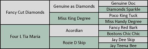 Scorias pedigree