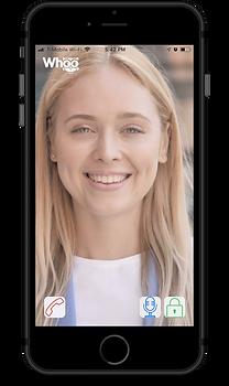 Video intercom app on phone