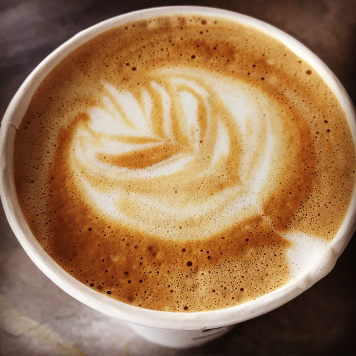 Latte to-go